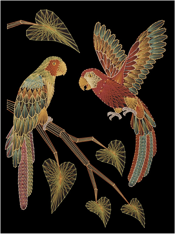 Изонить - это оригинальный вид декоративно-прикладного искусства, уходящий корнями к народным мастерам Англии.